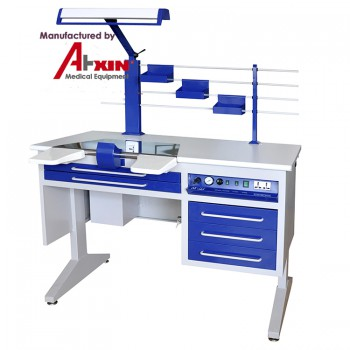 Aixin AX-JT7 Dental Lab Workstation Dental Labortory Work Bench Simple Person