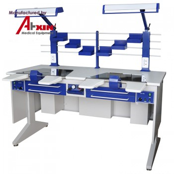 Aixin AX-JT6 Dental Lab Workstation Dental Labortory Work Bench Double Person Workstation