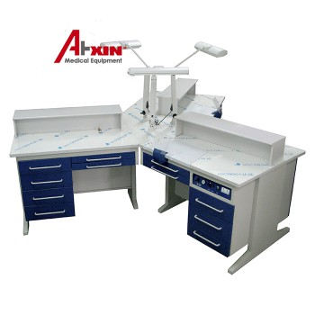 AX-YT1 Combined Dental Lab Workstation for Three Dental Technicians