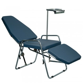 Greeloy GU-P101 Updated Adjustable Portable Dental Folding Chair Stainless Steel...
