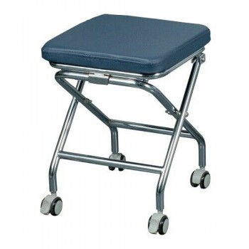 Greeloy GU-P103 Portable Dental Folding Stools for Dentist 304 Stainless Steel F...