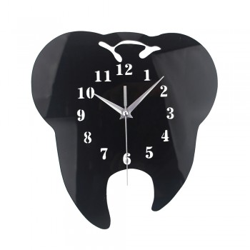 Tooth Wall Clocks Tooth Dentistry Wall Clock Laser Cut Dental Clinic Decor Teeth Clock Care Dental Doctor Gift