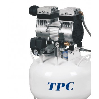 TPC DC701 32L Dental Silent Oil Free Air Compressor