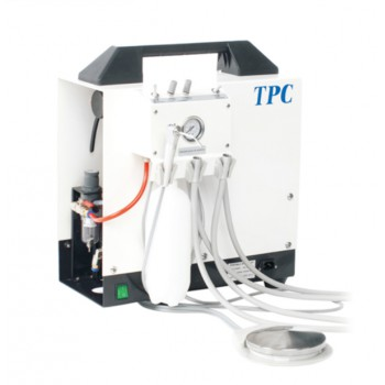 TPC PC2635 Portable Dental Unit with air compressor Self-Contained Water Bottle System
