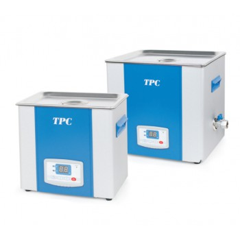 TPC Stainless Steel Dental Ultrasonic Cleaner with Digital timer & Basket UC-400 UC-1000