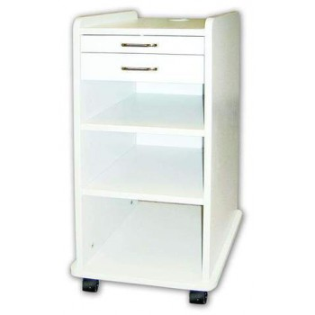 TPC TMC-180-W Utility Dental Mobile Cabinet For Dentist Assistant