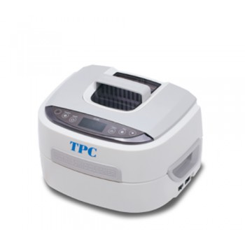TPC UC250 Dentsonic Ultrasonic Cleaner w/ Timer Stainless Steel Tank