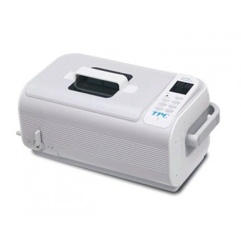 TPC UC600 Dentsonic Ultrasonic Cleaner with Digital Timer and Heater Stainless Steel Basket