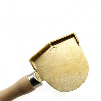 1Pcs Golden Durable Dental Lab Technician Wax Spade Shovel
