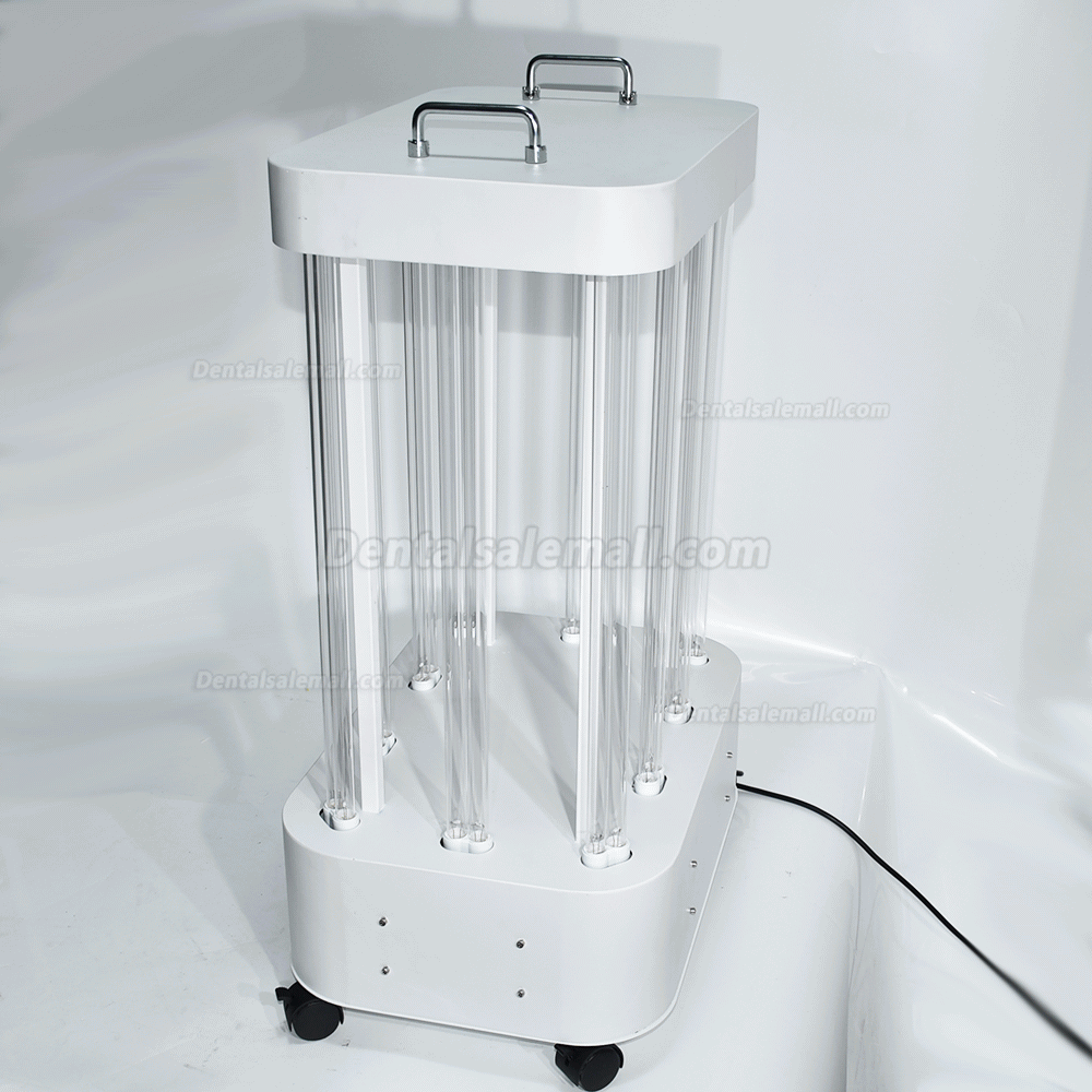 1000W UV Disinfection Lamp Factory Hospital Large Space UVC Light Sterilizer Movable Disinfection Lamp