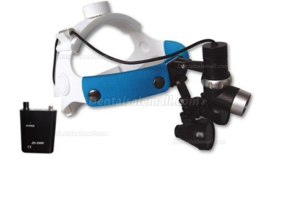 JD2100 Dental LED Headlight With 3.5X Magnifier Loupe