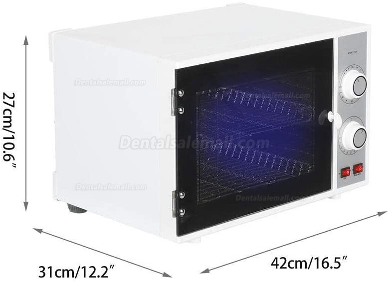 25L UV Ozone Sterilizer Disinfection Hot Heater Cabinet for Manicure Hairdressing Beauty Salon Hotel Spa