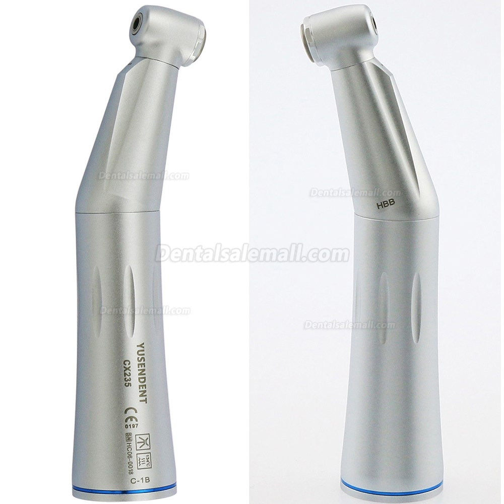 YUSENDENT CX235-1B 1:1 Contra Angle Dental Inner Water Handpiece E type