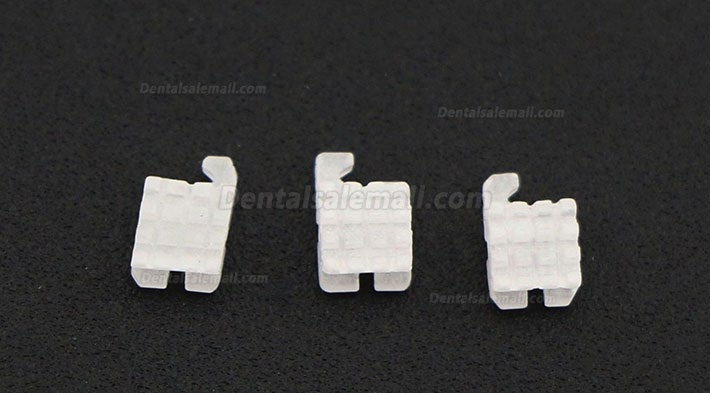 20Pcs/5Pack Dental Orthodontic Ceramic Bracket Braces MBT 022 345 Hooks