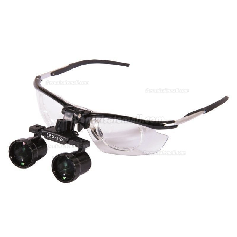 2.5X-3.5X Dental Surgical Medical Binocular Loupes Variable Magnification DY-113
