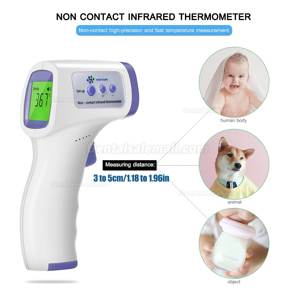 Digital Infrared Thermometer Non-Contact IR Thermometer Infrared Forehead Thermometer