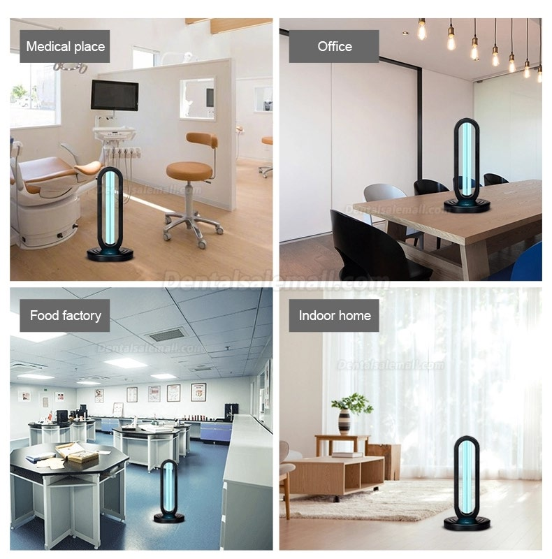 2020 UVC Portable Disinfection Lamp With Ozone UV Sterilizer Lamp Ultraviolet Germicidal Light