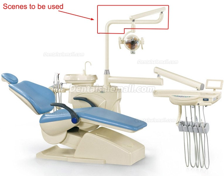 Dental Oral Lamp Arm Support Post For Dental Unit Chair Model HC-03