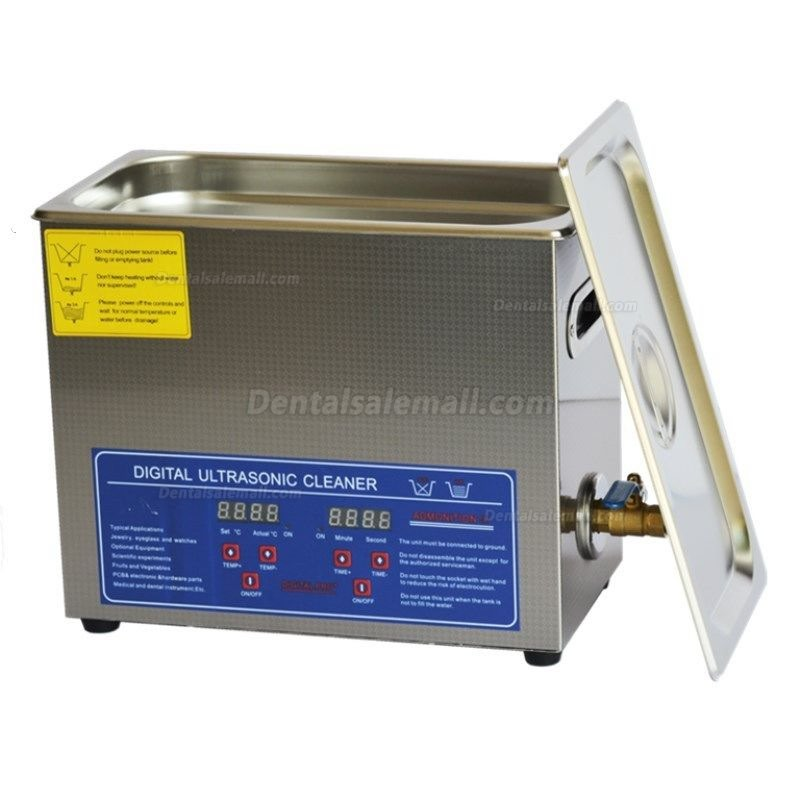 6L Stainless Steel Ultrasonic Cleaner Machine Cleaning Machine JPS-30A