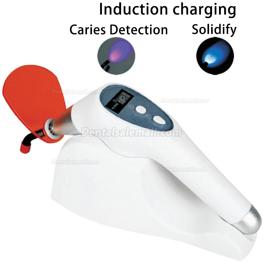 Dental LED Curing Light Wireless Cure Light Cure Lamp with Caries Detection