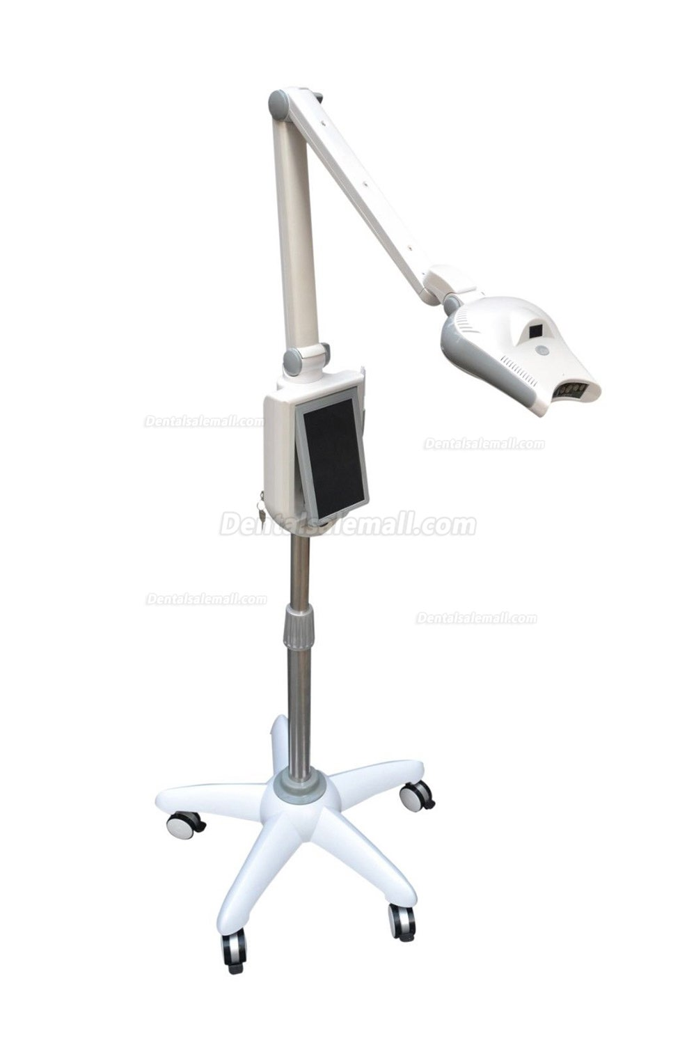 Dental 7'' LCD LED Teeth Whitening System Bleaching Light Lamp with Camera
