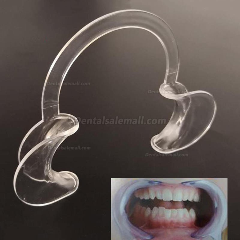 20Pcs Dental Intraoral Lips Mouth Gag Disposable Medical Mouth Expander C type Opener