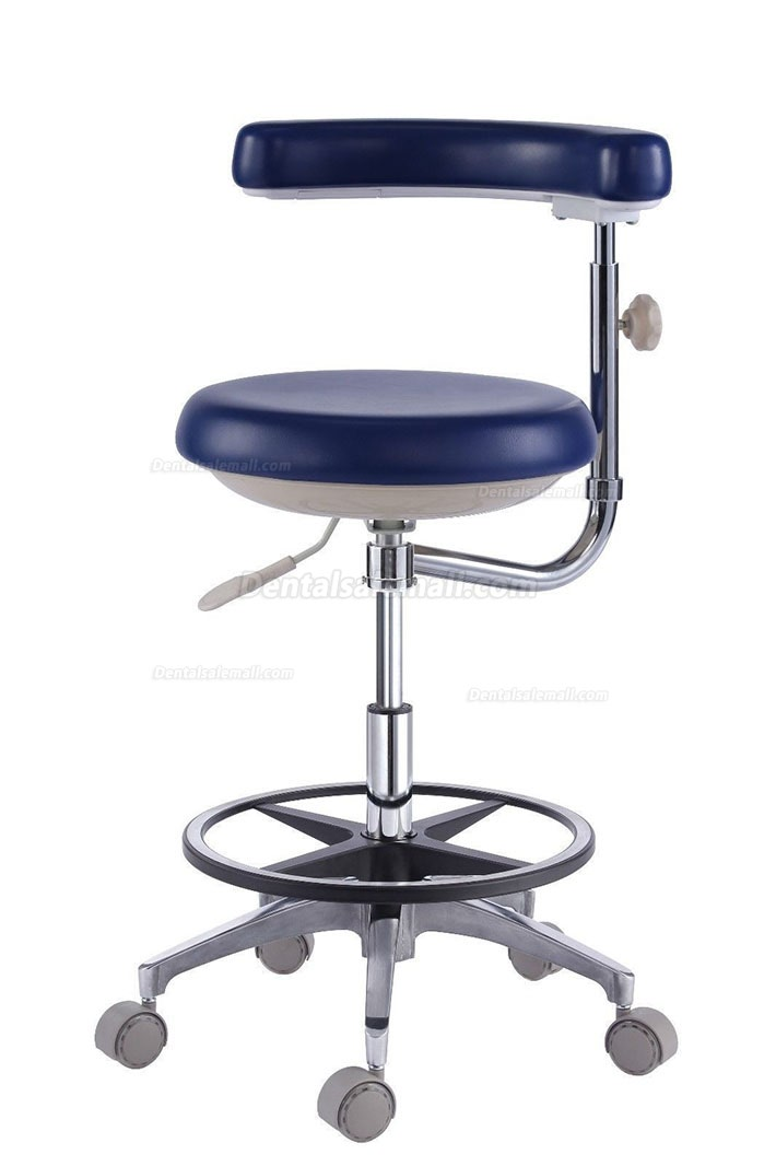 Dental Assistant's Stool Nurse's Stool Chair PU Leather QY500(N) 18 Colors