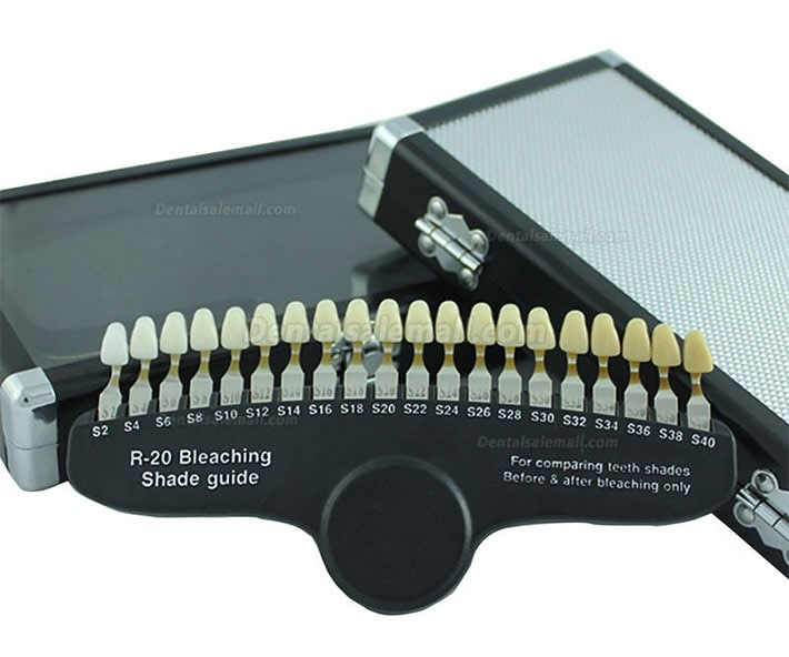 R-20 Dental Shade Guide Teeth Whitening Shade Guide Vita Shade Guide Bleaching