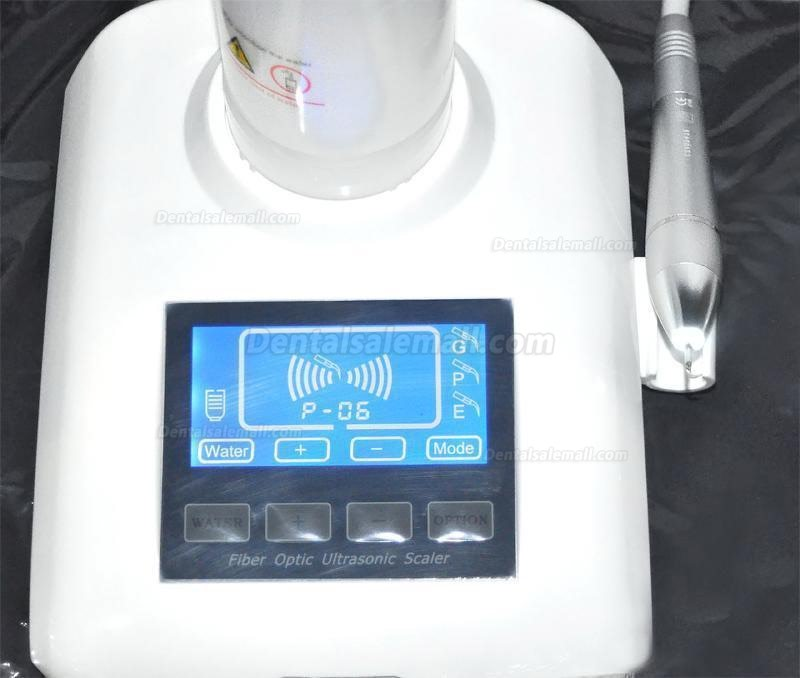 Dental LED Fiber Optic Piezo Ultrasonic Scaler YS-CS-A(V)+ 2 Water Bottle