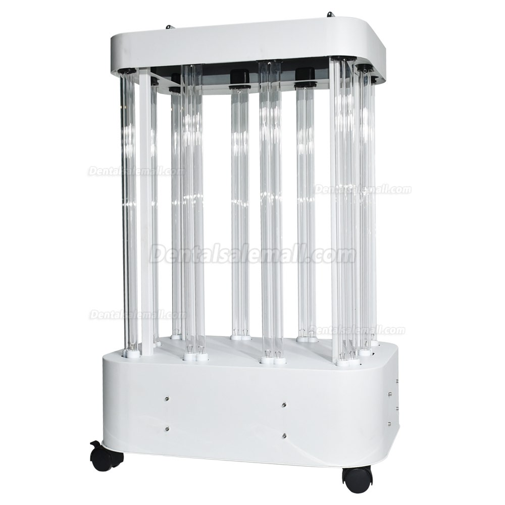 1500W UV Room Disinfection Lamp Factory Hospital Large Space Mobile UVC Light Sterilizer