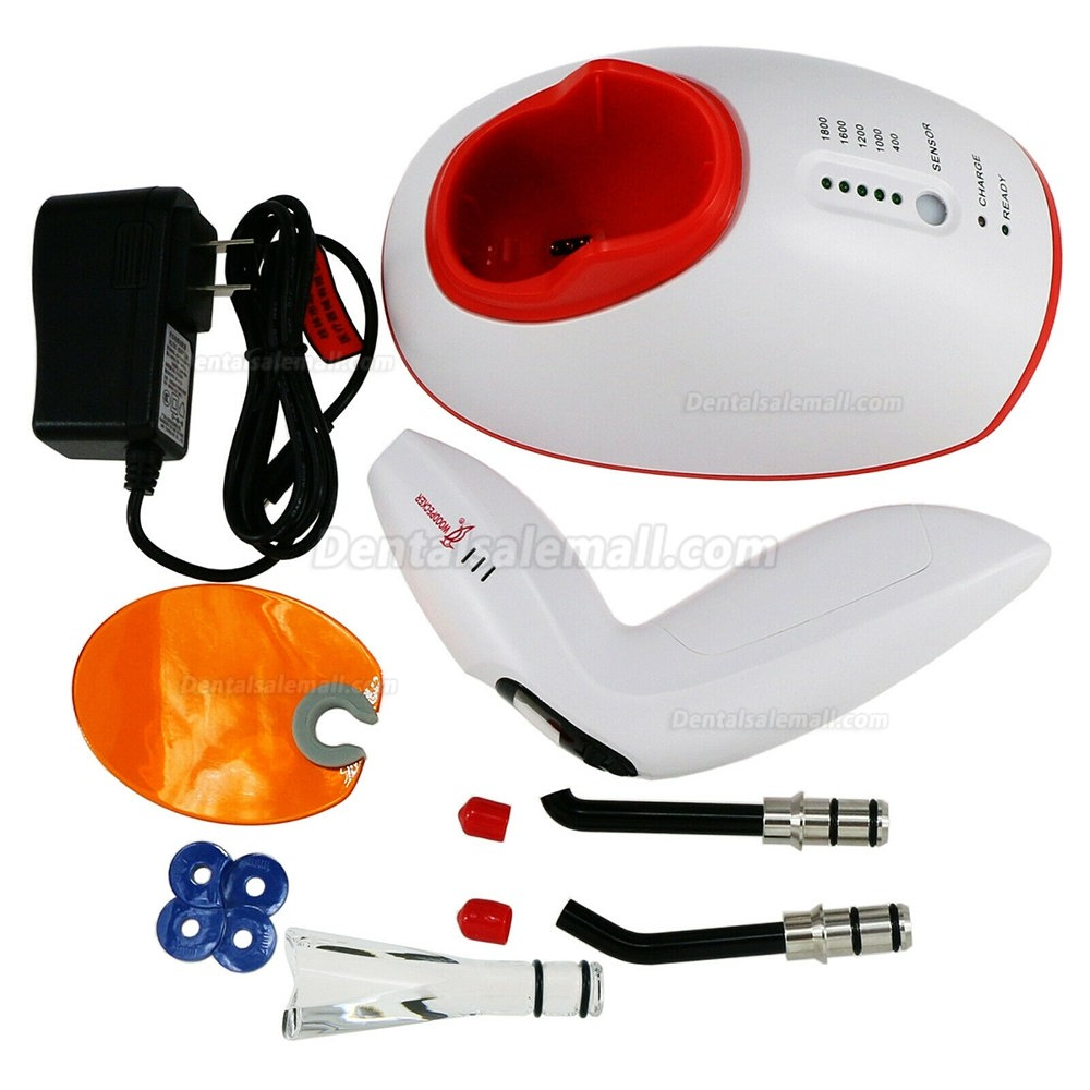 100% Original Woodpecker LED.F Dental 3 Sec LED Curing Light with Light Meter Tester & Teeth Whitening Function