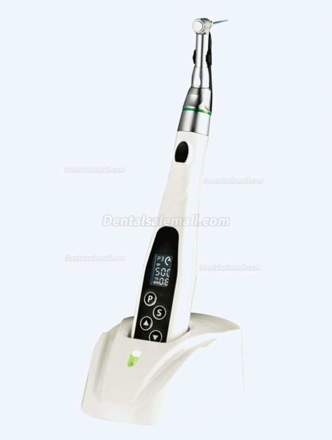DEGER Y-SMART Dental Wirelss Endo Motor LED Contra-angle 16:1 20:1 Handpiece