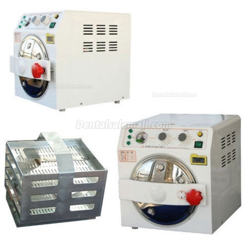JG®10L YZM(A-BC) Mini Dental Steam Autoclave Sterilizer Thermal Sterilizer Class B