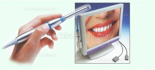 What is an intraoral camera and how does it work?