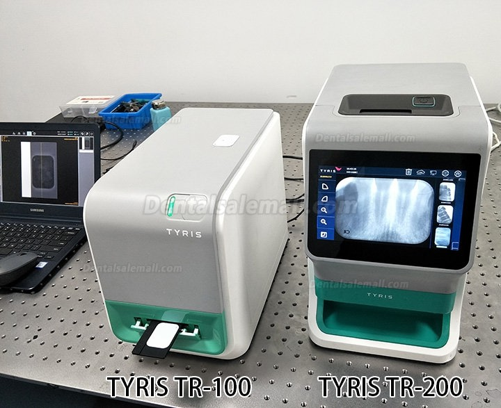 TYRIS TR-200 Dental Intraoral Image Plate Scanner PSP X Ray Scanner Touch Screen